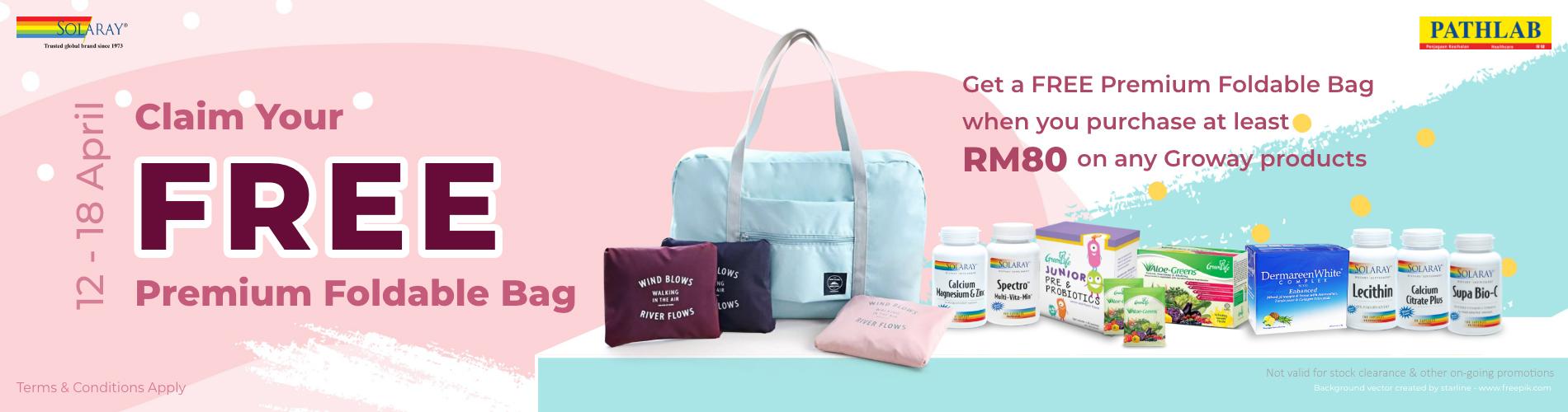 Free Premium Bag