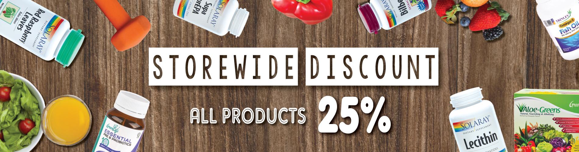 Storewide Discount