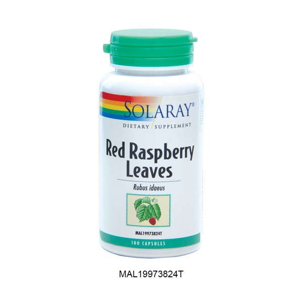 [Clearance] SOLARAY RED RASPBERRY LEAVES 100'C (Expiry Date: 30th June 2021)