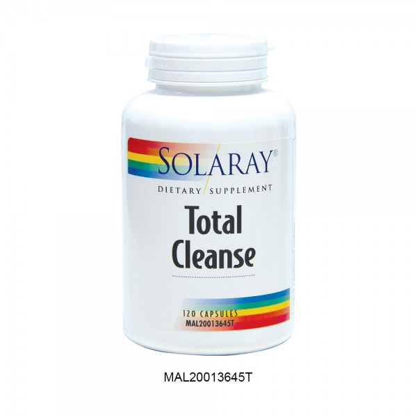 SOLARAY TOTAL CLEANSE CAPS 120'S IN BOX (MAL20013645T)