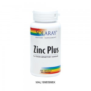 [Clearance] SOLARAY ZINC PLUS 100 (Expiry Date: 30th June 2021)