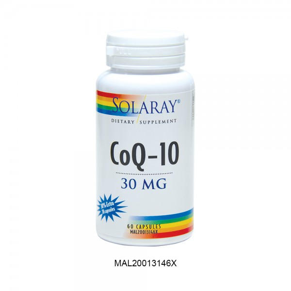 SOLARAY COQ10 EXTRA 30%- H (CLEARANCE) EXP: 7/21