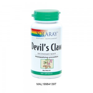 [Clearance] SOLARAY DEVIL'S CLAW - 100 Capsules (Expiry Date: 30th June 2021)