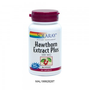 [Clearance] SOLARAY HAWTHORN EXTRACT PLUS EXTRA 25% (Expiry Date: 30th Oct 2021)