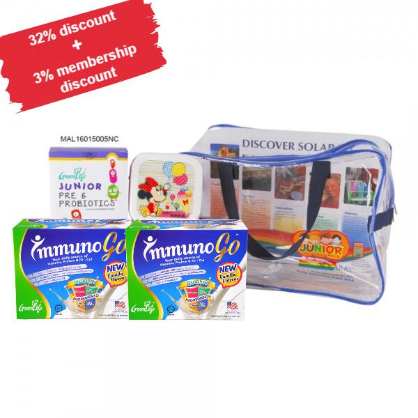 Junior Pack (Enhanced) ImmunoGo (2 x 15'S) Junior Pre&Pro ( 1 x 30'C)(MAL16015005NC)