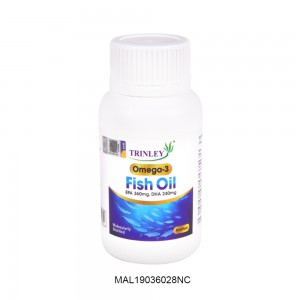 [Clearance] TRINLEY OMEGA-3 FISH OIL 30 SOFTGEL (MAL19036028NC) (Expiry Date: 13th Feb 2022)